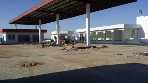 Construction of Filling Station